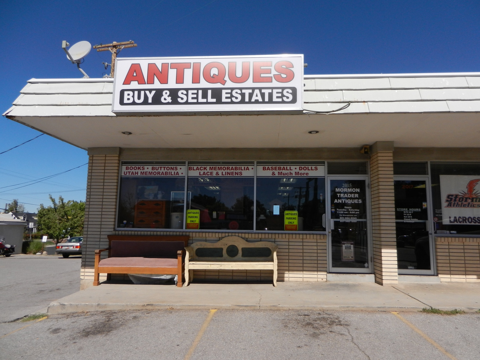 Mormon Trader Antiques, 2015 East 3300 South, Salt Lake City, Utah, 84109, USA